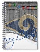 St Louis Rams Spiral Notebook