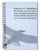 Soaring Heron Spiral Notebook