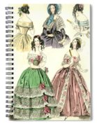 Women's Fashion, 1842 Spiral Notebook
