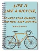 162- Albert Einstein Spiral Notebook