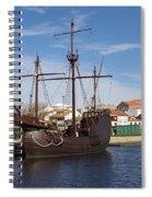 16th Century Ship Spiral Notebook