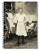 Hine Home Industry, 1912 Spiral Notebook