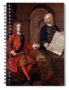 John Churchill (1650-1722) Spiral Notebook
