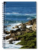 17 Mile Drive Detail Spiral Notebook