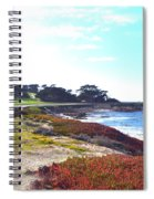 17 Mile Drive Shore Line II Spiral Notebook