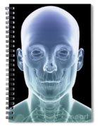 The Skull Spiral Notebook