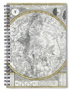1700 Celestial Planisphere Spiral Notebook