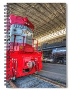1776 And 1218 Locomotives Norfolk And Western Spiral Notebook