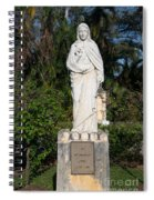 Ancient Spanish Monastery Spiral Notebook