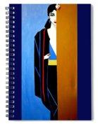 Behind The Door Spiral Notebook