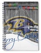 Baltimore Ravens Spiral Notebook