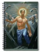18. Jesus Rises / From The Passion Of Christ - A Gay Vision Spiral Notebook