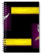 Minnesota Vikings Spiral Notebook