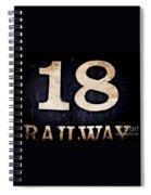18 Railway Spiral Notebook