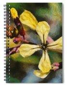 Spring Wild Flower Spiral Notebook