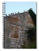 Views From Corfu Greece Spiral Notebook