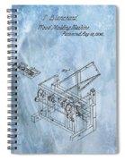 1836 Wood Molding Machine Spiral Notebook