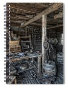 1860's Blacksmith Shop - Nevada City Ghost Town - Montana Spiral Notebook