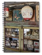 1860's Chinese Mercantile Shop - Montana Spiral Notebook