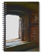 1861 Cannon Turret Fort Point San Francisco Bay Spiral Notebook