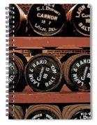 1861 Civil War Cannon Powder Magazine Spiral Notebook