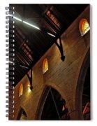 1865 - St. Jude's Church  - Interior 2 Spiral Notebook