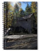 1868 Cable Mill At Cades Cove Tennessee Spiral Notebook