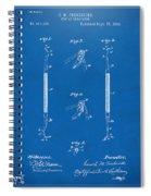 1896 Dental Excavator Patent Blueprint Spiral Notebook