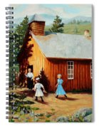 1896 School House Spiral Notebook