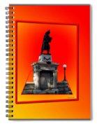 1898 Firemen Memorial Spiral Notebook
