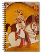 18th Century Indian Painting Spiral Notebook
