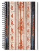 18th Century Thermometer-barometer Spiral Notebook