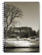 18th Century Winter Spiral Notebook