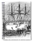 Boston Tea Party, 1773 Spiral Notebook