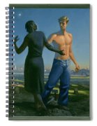 19. Jesus Appears To Mary / From The Passion Of Christ - A Gay Vision Spiral Notebook