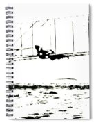 1902 Wright Brothers Glider Tests Spiral Notebook