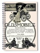 1904 - Oldsmobile Automobile Advertisement Spiral Notebook