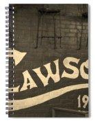 1905 Restaurant  Spiral Notebook