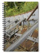1906 Ship Wreck Sturgeon Point Lighthouse Spiral Notebook