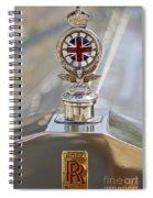 1909 Rolls Royce Spiral Notebook