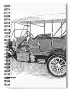 1911 Maxwell A B Spiral Notebook