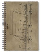 1911 Steamship Patent Spiral Notebook