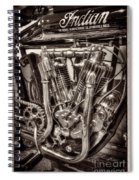 1912 Indian Twin Spiral Notebook