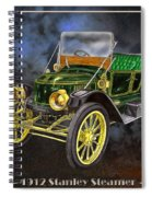 Stanley Steamer Spiral Notebook