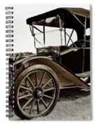 1913 Argo Electric Model B Roadster Coffee Spiral Notebook