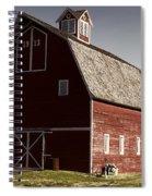1913 Barn In Montana Spiral Notebook