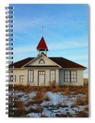 1918 Schoolhouse Macabe Montana Spiral Notebook