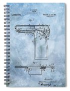 1920 Handgun Patent Spiral Notebook