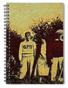 1920s Golf Spiral Notebook