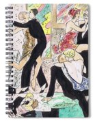 1920s Party 2 Spiral Notebook